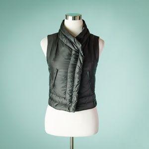 BCBG Max Azria XXS Black Down Puffer Vest
